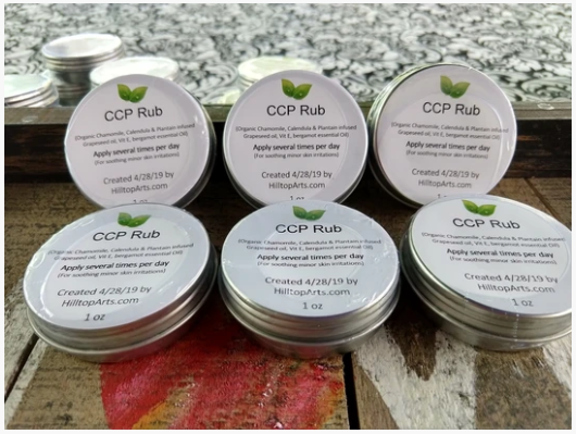 CCP Rub - 3-Herb Healing Salve