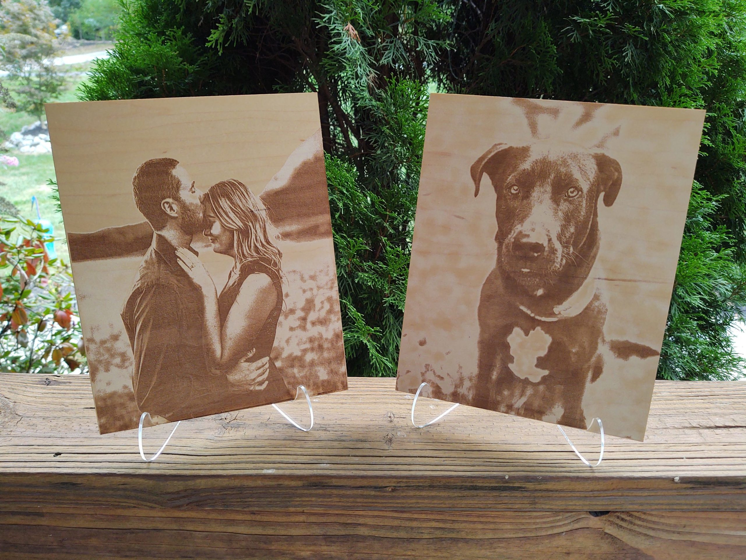 Custom Wood Engraving Products