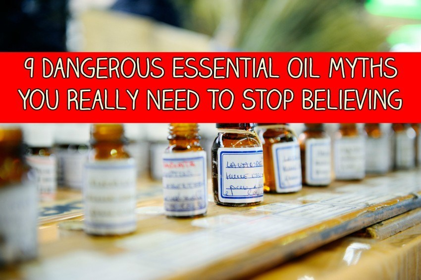 Essential Oils and Myths